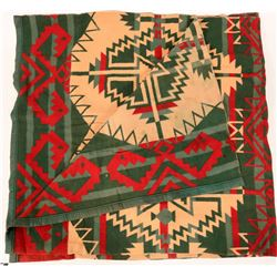 Pendleton Style Vintage Western Indian Design Blanket  (108299)