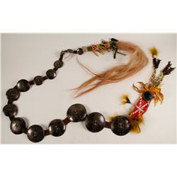 Plains Indian Hair Drop  (56644)
