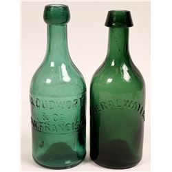California Gold Rush Period Green Sodas  (114278)