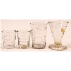 Southern San Joaquin Valley Drugstore Dose Glasses (4)  (112595)