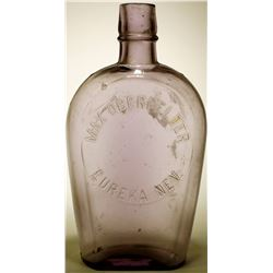Whiskey Flask / Coffin Max Oberfelder.  (89511)