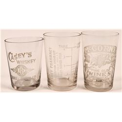 New York Vinatge Whiskey Shot Glasses  (112591)