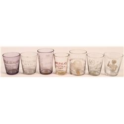 Ohio Vintage Whiskey Shot Glass Collection (7)  (112578)