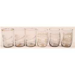 Seattle Vintage Beer Glass Collection (6)  (112571)