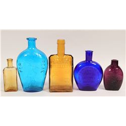 Colorful Historical Flask Reproductions  (114274)