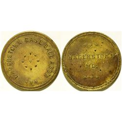 Hagerstown Baseball Association Token  (112434)
