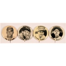 Brooklyn Dodgers Baseball Photo Pins  (112424)