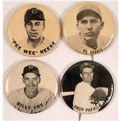 Brooklyn Dodgers Baseball Photo Pins  (112521)
