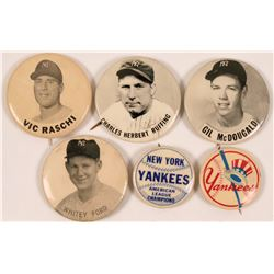 New York Yankees Baseball Pins  (112447)