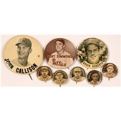 Philadelphia Phillies Baseball Photo Pins  (112433)
