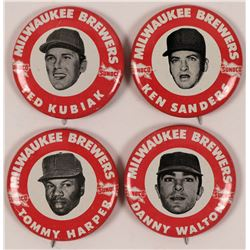Milwaukee Brewer Baseball Pins  (112520)