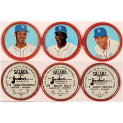 Early Dodgers Baseball Coins  (112397)