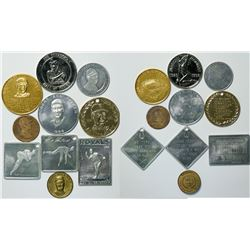 Famous Baseball Players Medal Collection  (112432)