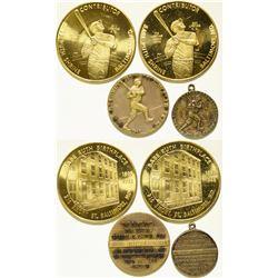 Babe Ruth Award Medals  (112422)
