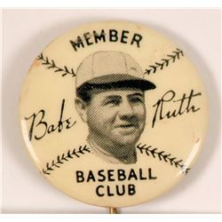 Babe Ruth Baseball Pin  (112406)