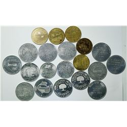 Baseball Schedule Token Collection  (112395)
