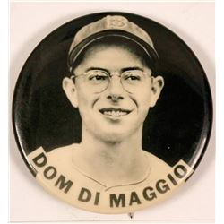 Dom DiMaggio Baseball Photo Pin  (112510)
