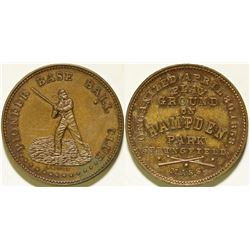 Pioneer Base Ball Club Token  (112435)