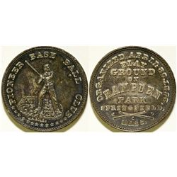 Pioneer Base Ball Club Token  (112436)