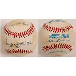 Reggie Jackson signed Ball  (104610)