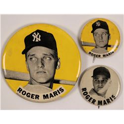 Roger Maris Baseball Photo Pins  (112429)