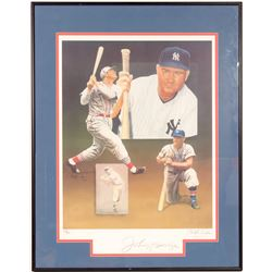 Signed Johnny Mize Lithograph by Christoper Paulson  (104556)
