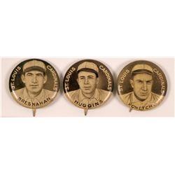 Sweet Corporal Cigarette St. Louis Cardinals Baseball Pins  (112401)
