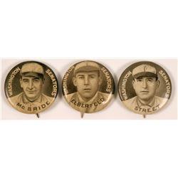 Sweet Corporal Cigarette Washington Senators Baseball Pins  (112400)