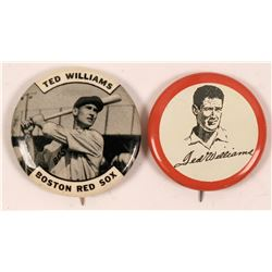 Ted Williams Baseball Photo Pins  (112441)