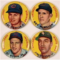 Topps 1956 Baseball Pins  (112519)