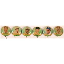 Vintage Baseball Pinbacks  (112399)