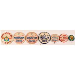 Vintage Team Baseball Pins  (112442)