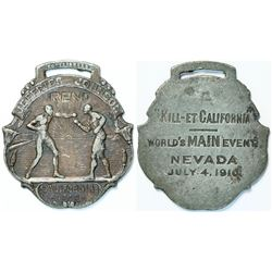 Jeffries/Johnson Boxing Fob  (112561)