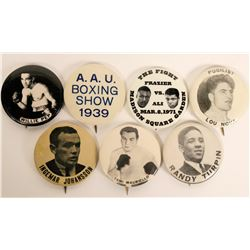 Boxing Photo Pin Collection  (112537)