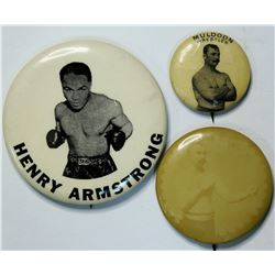 Boxing Photo Pins  (112559)