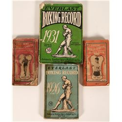 Boxing Record Books  (112536)