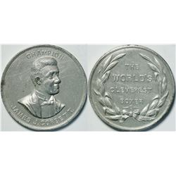 James J. Corbett Boxing Medal  (112552)