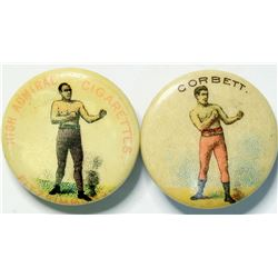 Corbett/Fitzsimmons button studs  (112551)