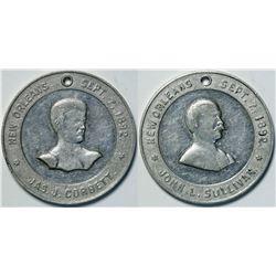 Corbett/Sullivan Boxing Medal  (112557)