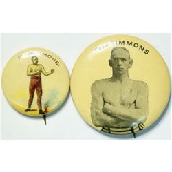 Fitzsimmons Boxing Pins  (112528)
