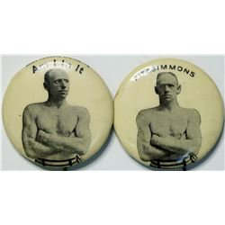 Fitzsimmons Boxing Pins  (112540)
