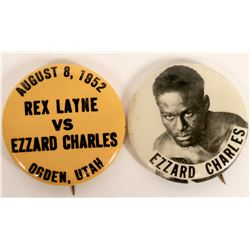 Ezzard Charles Boxing Pins  (112530)