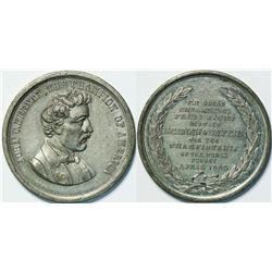 Heenan/Sayers Boxing Medal  (112542)
