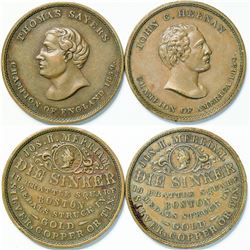 Heenan/Sayers Boxing Medals  (112567)