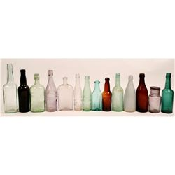 Antique Bottle Lot  (114283)
