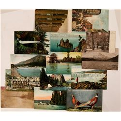 Oregon Postcards + Stemaers on Colombia River  (108234)