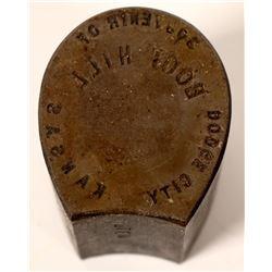 Dodge City Encased Cent Die  (110468)
