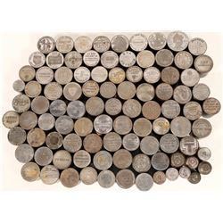 Dollar Size Die Collection (95)  (112150)