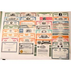 41 different U. S. Industrial, etc.' Stock Certificates  (112039)
