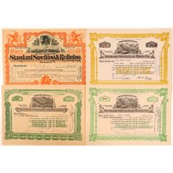 Standard Silver-Lead Mining Co. Stock Certificates  (107873)